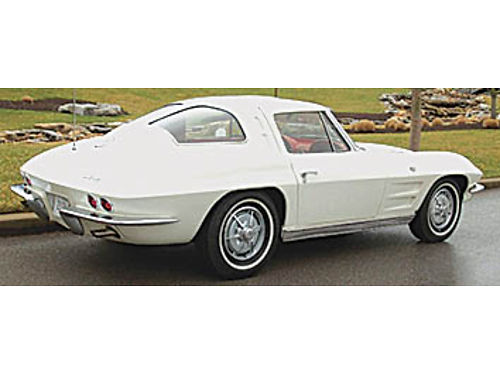WANTED 1963 CORVETTE Split Window Coupe Driver quality preferred Private party not a dealer Ema