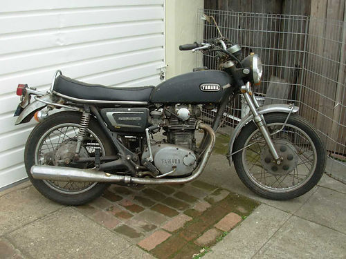 1972 YAMAHA 650 restoration project more photos available 1500
