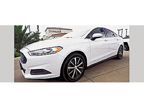 2013 FORD FUSION S - low miles 4 cyl 3329593 10990 STOWASSER 600 E Betteravia SM 1-888-846-3