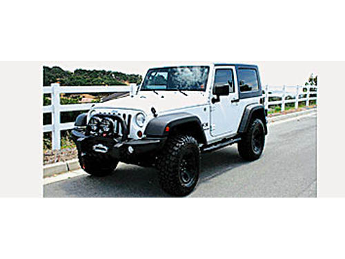 2008 JEEP WRANGLER X - Excellent condition clean CarFax only 76450 miles over 12K of AEV Off-r