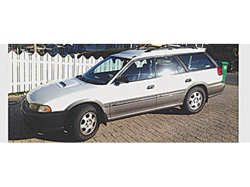 1997 SUBARU OUTBACK LEGACY - 25L 5 speed just detailed new all terrain tires current smog new c