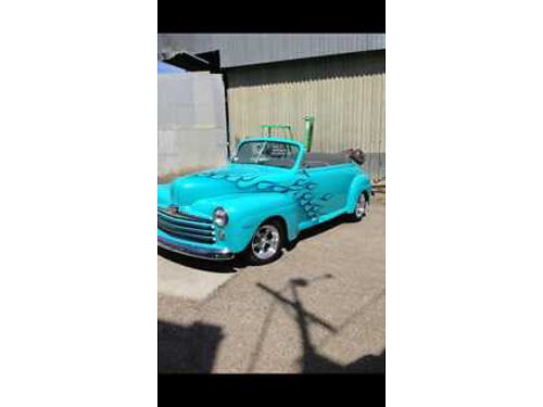 1947 FORD HOT ROD Chevy ZZ4 crate eng competition cam 1500 mi 4 spd Hurst shifter extra coolin