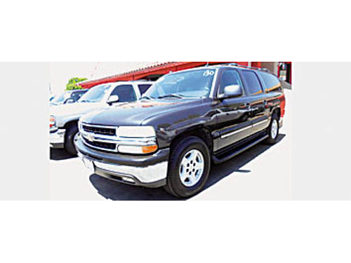 2005 CHEVY SUBURBAN LT - 3rd row leather autoride 1262138027 8995 Bad or No credit Matricula