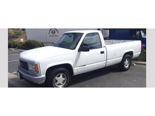 1997 GMC SIERRA 1500 Longbed V6 auto ps pb air radio 106K orig mi heater alloy wheels big