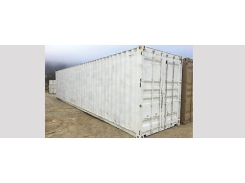 40 HIGH CUBE STORAGE CONTAINER WWTCargo worthy unit 2450