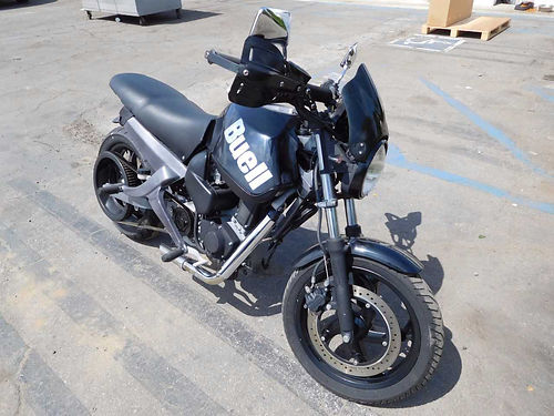 2001 BUELL BLAST 600 - motorcycle low 17K miles clean paint lots of tread life clutch is smooth