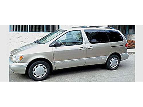 2000 TOYOTA SIENNA XLE - approx 180K AC amfm stereo runs great smogged PW Pseats no accident