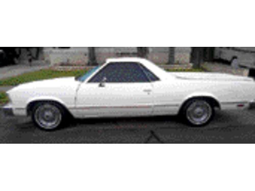 1979 CHEVY EL CAMINO 305 eng 8 cyl brand new tires re-upholstered seat window weatherstripping