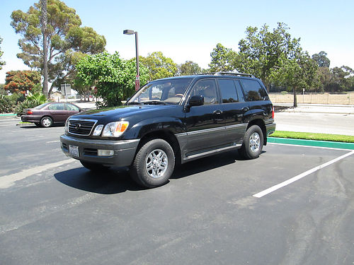 2000 LEXUS LX470 auto fully loaded leather sunroof runs good well maint very clean 5900 obo