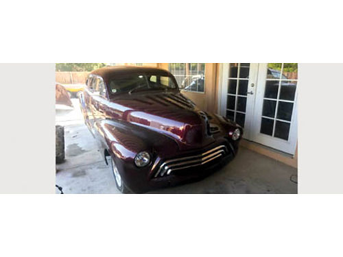 1946 CHEVY COUPE Chopped car is complete stroker eng remote entry shaved do
