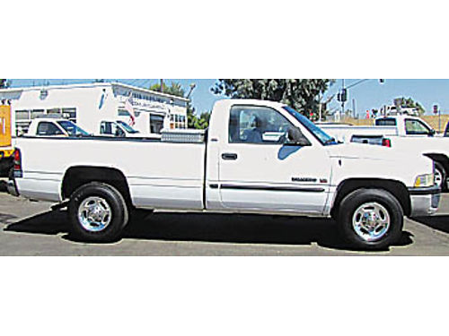 2002 DODGE 2500 - Pickup 59L V8 gas auto AC 66K miles 308420 6999 MODERN FLEET LIQUIDATION