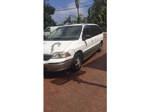2000 FORD WINDSTAR 6 cyl auto registration and smog are current runs good se habla esp 1290