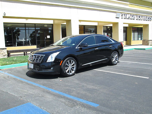 2013 CADILLAC XTS auto V6 fully loaded Navigation lthr AC CD tint 4dr hi fwy miles fleet