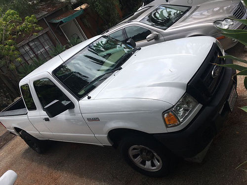 2008 FORD RANGER - Extended Cab 102K 5 speed manual transmission original owner excellent condit