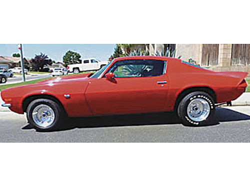1972 CAMARO SSRS - 50 restored many new and restored features  equip 350 wstroker kit headers