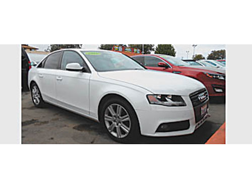2010 AUDI A4 - Premium turbo auto 4cyl beautiful car 11995 010699 Bad or No credit Matricu