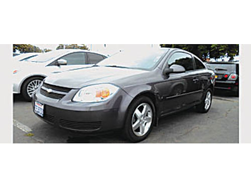 2006 CHEVY COBALT LT - Auto loaded 4cyl economical 4995 7610S1 Bad or No credit Matricula O