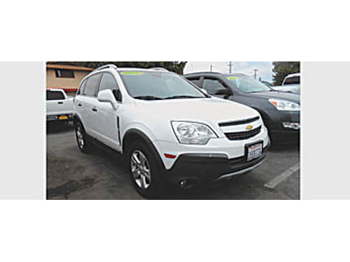 2013 CHEVY CAPTIVA LS - 4cyl 576023 Economical 11995 Bad or No credit Matricula OK SBCARCO
