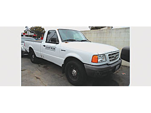 2001 FORD RANGER XL - One owner great work truck 4995 A00796 Bad or No credit Matricula OK S