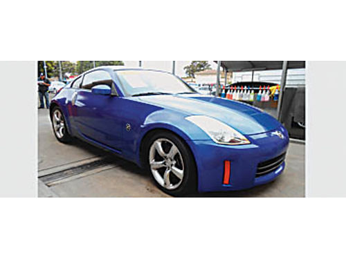 2006 NISSAN 350Z - Leather 6spd fun to drive 330334 10995 Bad or No credit Matricula OK SB