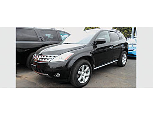 2007 NISSAN MURANO SL - AT loaded great SUV 628883 6995 Bad or No credit Matricula OK SBCAR