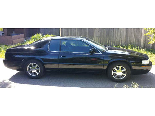 2001 CADILLAC EL DORADO Cpe Black on Black interior  ext in great cond everything works On-Sta