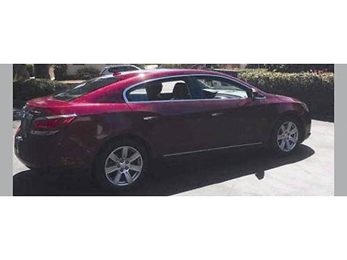 2010 BUICK LACROSSE CXL auto fully loaded leather snrf AC CD always garaged very well maint