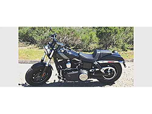 2014 HARLEY Dyna Fatbob - 103ci eng Factory alarm wpaging Many upgrades- Vance  Hines exhaust A