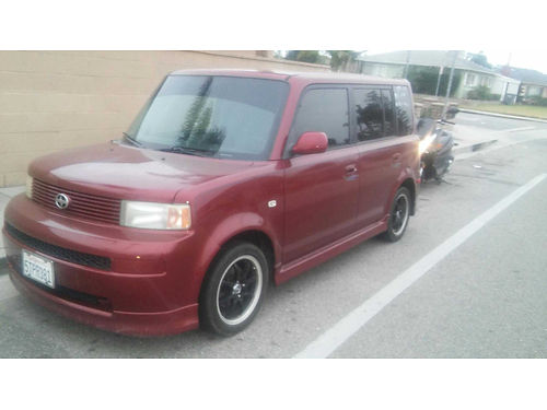 2006 SCION XB 4cyl auto 15L 115K miles clean title runs great 4 door great on gas mileage