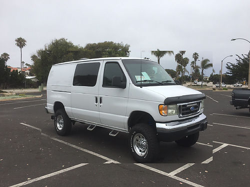 2003 FORD E350 73 Diesel Van Great Views and Rugged looks and performance- Road Trip Ready Twin I
