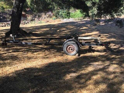 BOAT TRAILER for 16 Ft boat good start for Jet ski motorcycles quads or whatever no license or