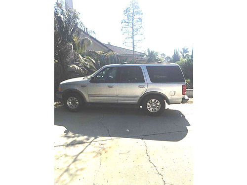 2001 FORD EXPEDITION XLT 2wd auto V8 46L rebuilt eng 3rd seat tow pkg rbrds well maint r