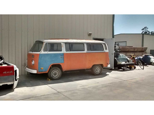 1974 VW VAN no rust but needs complete restoration 4900 818-968-4834