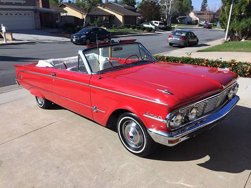 1963 MERCURY COMET S22 CONVT - For sale a gorgeous cruisershow car or a daily driver A real Turn