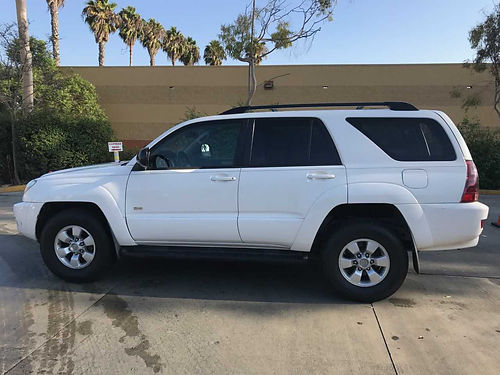 2004 TOYOTA 4RUNNER SR5 auto V6 all power AC CD rbrds trailer hitch roofrack 2 brand new