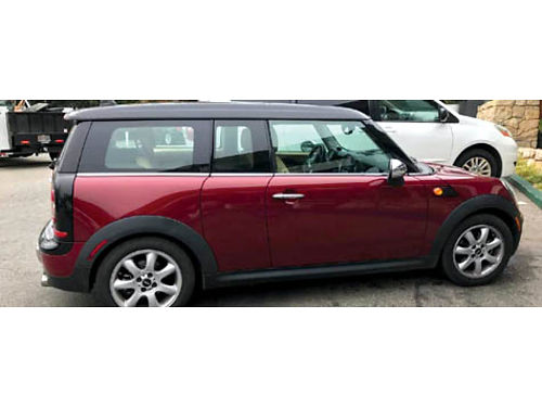 2008 MINI COOPER CLUBMAN manual 4 cyl 1 owner impeccably maint by 1 mechanic hi fwy mi reg 09