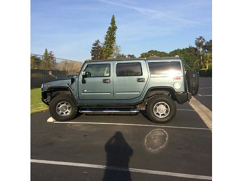 2005 HUMMER H2 4 WD auto xlnt cond 16700 orig miles well maint AC DVD in headrests stereo