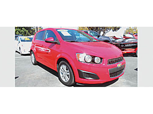 2015 CHEVY SONIC LT - one owner factory warranty only 29K mi 111901 10995 Bad or No credit