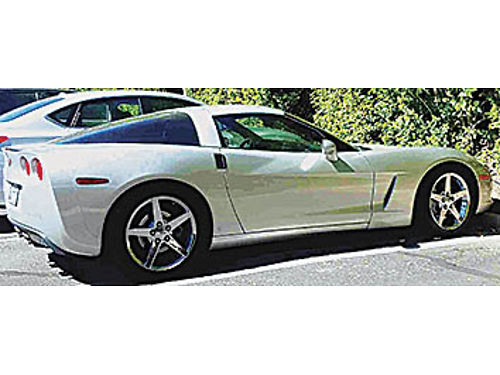 2007 CHEVY CORVETTE For sale 6 Speed C6 Coupe manual trans 400HP good tires New Radiator 23