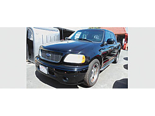 2001 FORD F150 HARLEY DAVIDSON - low miles B10156 8995 Bad or No credit Matricula OK SBCARCO