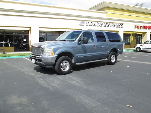 2000 FORD EXCURSION XLT 4X4 auto V10 well maint low mileage 120K mi 2nd owner new tires  brak