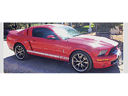 2008 FORD SHELBY GT 500 Supercharged 39k miles A must see Comes with all original parts 30000