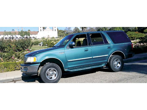 1997 FORD EXPEDITION XLT auto leather 3rd seat runs good xlnt cond AC pw alarm tow pkg rb