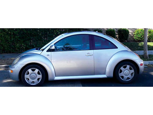 2000 VW BEETLE GLS auto wOD 4cyl 20L alloys tiltCC airbags clean title 111K mi pw pm p