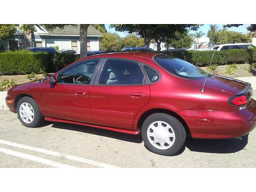 1998 FORD TAURUS auto 6 cyl super clean new tires AC 62K orig miles CD well main like new c