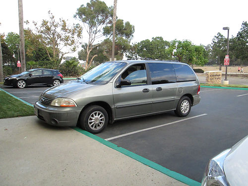 2001 FORD WINDSTAR auto 6cyl 7 pass pw runs good good cond in and out se habla esp 1550 obo