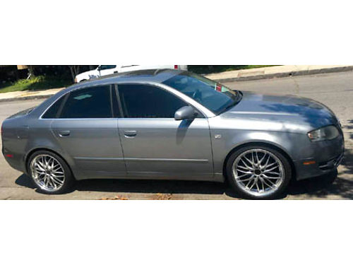 2006 AUDI A4 Fully loaded light blueblack interior 103K mi Recently serviced  100K must see t