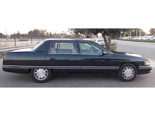 1996 CADILLAC DEVILLE CONCOURS 4DR Auto Od V8 46L AC fully loaded all pwr 102K orig mi smo