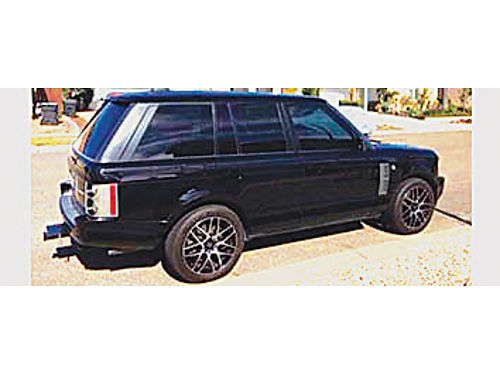 2006 RANGE ROVER HSE - 42 Super Charged 4WD New Paint Black on Black Black Leather Interior Pre