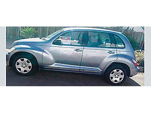 2009 CHRYSLER PT CRUISER - Color Silver Auto 4 cyl 4 door sedan PS PB AC tilt new tires just
